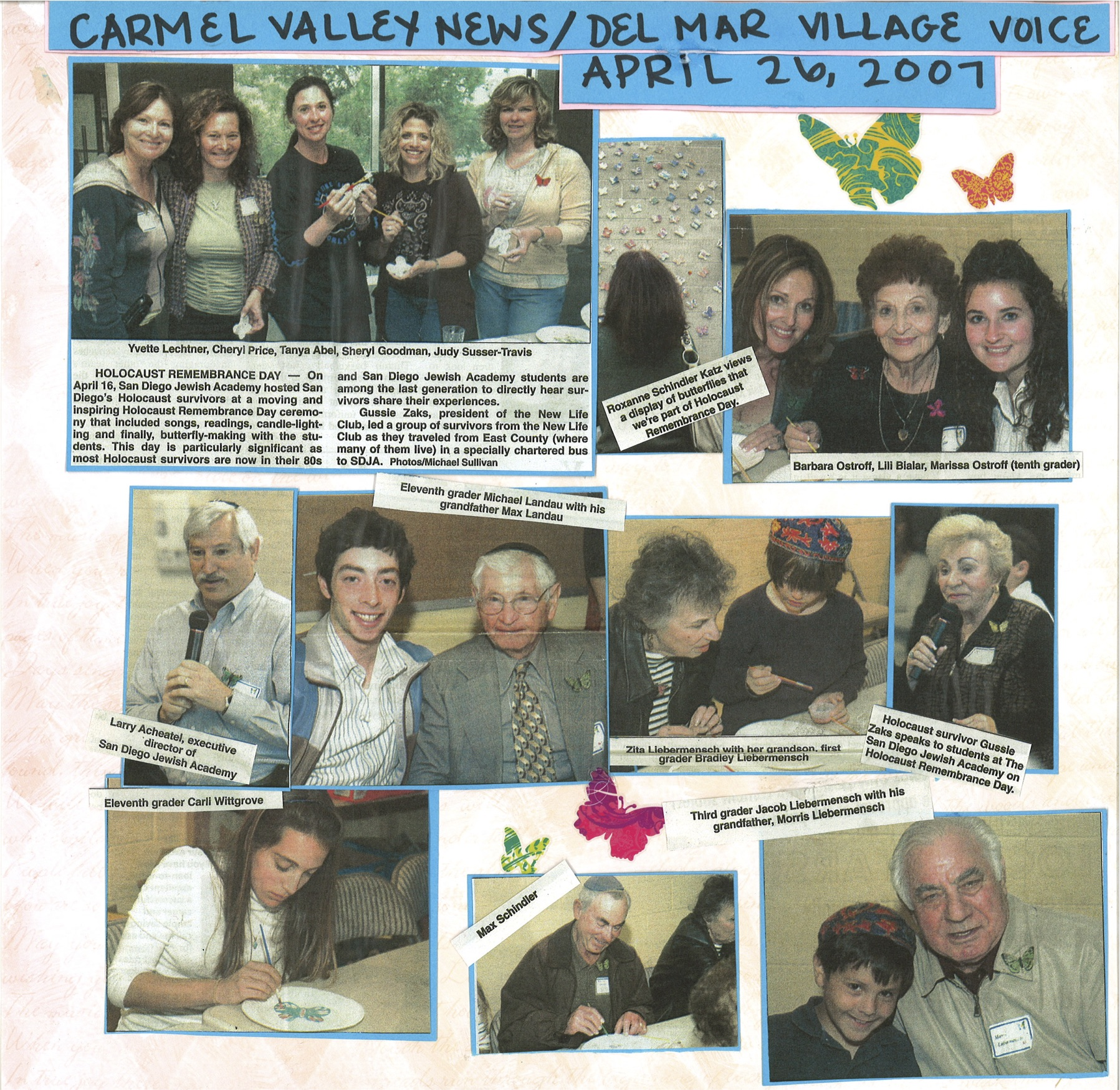 San Diego Jewish Academy News Article