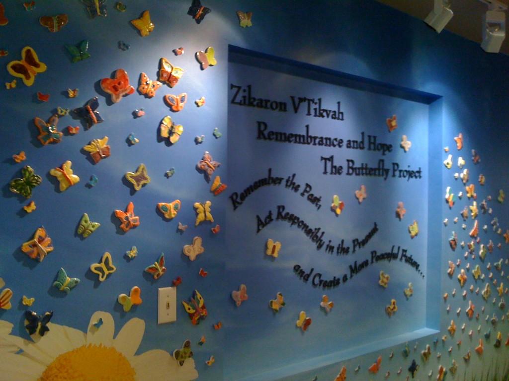 Butterfly installation by Seacrest Village Retirement Home in La Jolla, CA