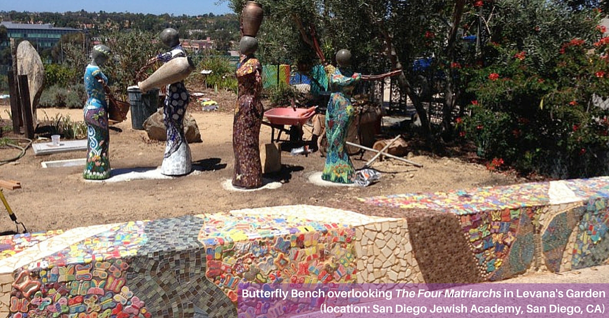 Butterfly Installation at San Diego Jewish Academy in San Diego, CA