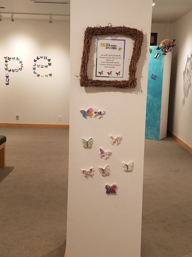 Butterflies at the Sabes Jewish Community Center in Minneapolis, MN